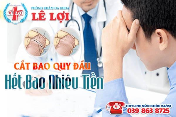 Chi phí cắt bao quy đầu ở Đô Lương Nghệ An bao nhiêu tiền?
