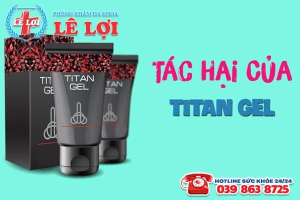 tác hại của titan gel
